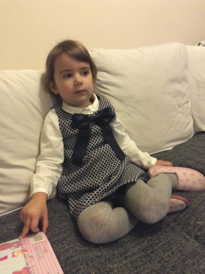 237bea301f sukienka- Uszyj Mi Mamo bluzka – Zara rajstopy – Calzedonia